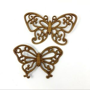 Vintage Butterfly Artistic Wooden Wall Decor